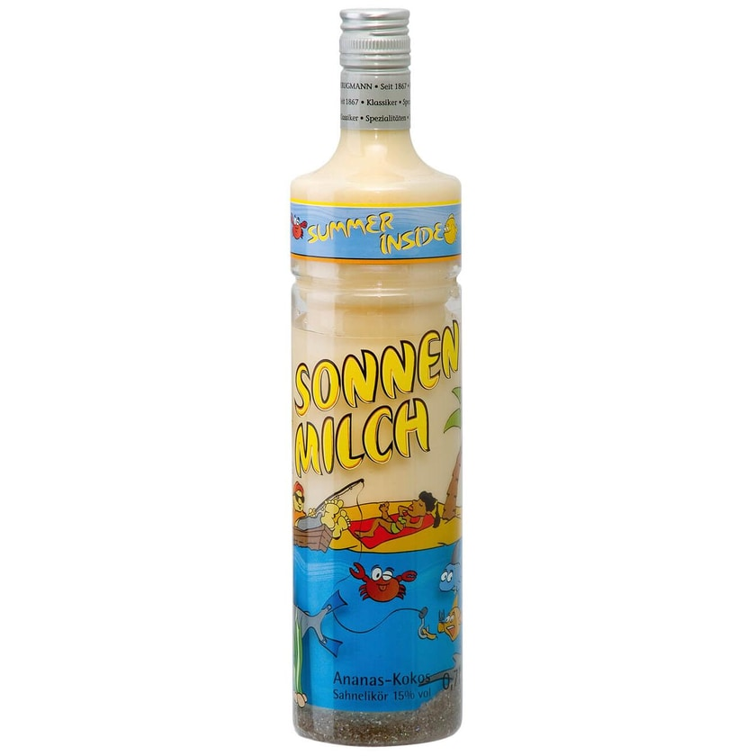 Krugmann PET Sonnenmilch Likör 0,7 L