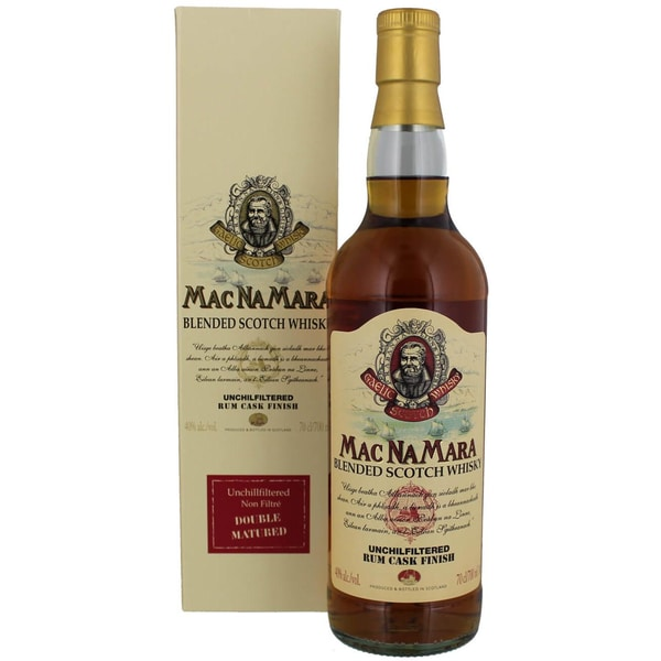 Macnamara Rum Finish Blended Whisky 0,7l