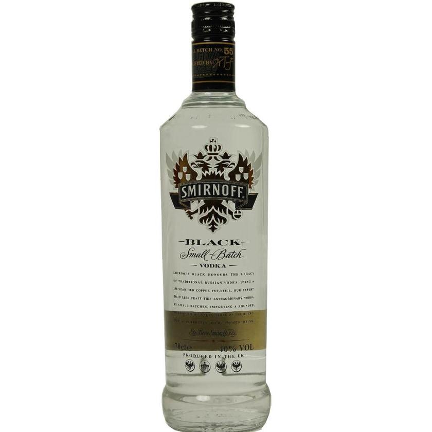 Smirnoff Vodka Black Label 0,7l