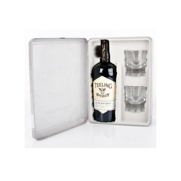 Teeling Small Batch Whiskey mit 2 Gläsern 0,7 L