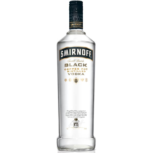 Smirnoff Black Label 1 L