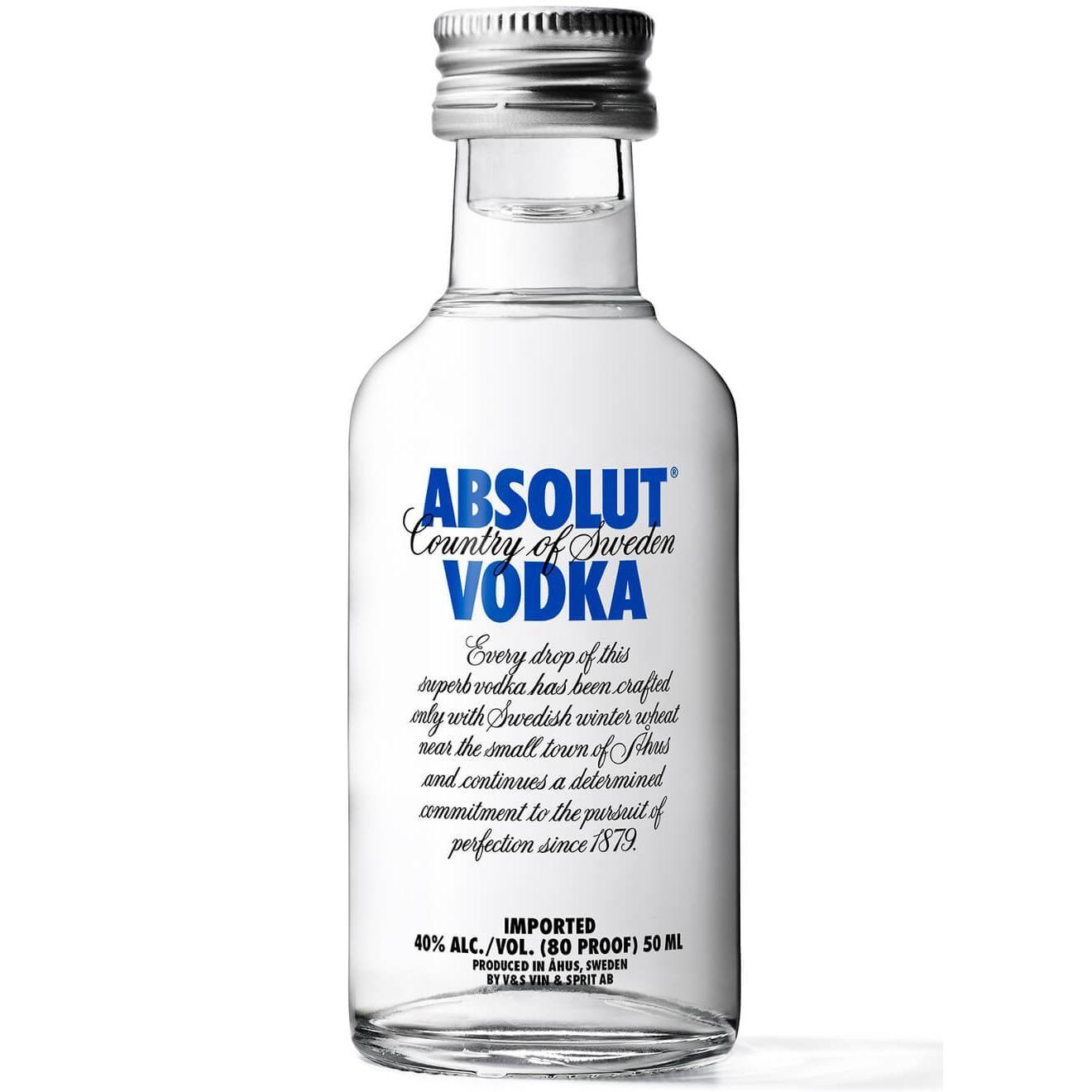 Absolut Vodka Blue Mini 0 05l Bei Rewe Online Bestellen