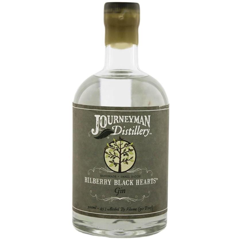 Journeyman Bilberry Black Hearts Gin White 0,5l
