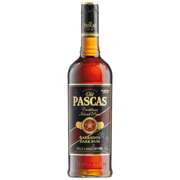 Old Pascas Barbados Dark Rum 1 L