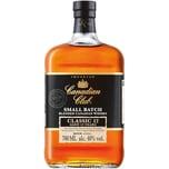 Canadian Club Classic Whisky 12 Jahre, 40% Vol, 1 x 0,7 l