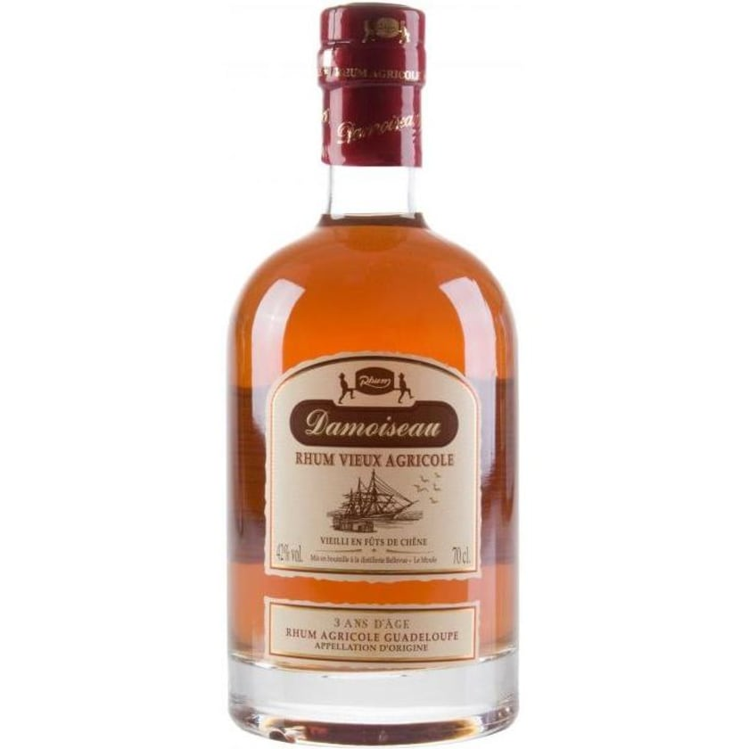 Damoiseau Rhum Vieux 3 yrs. 0,7 Liter
