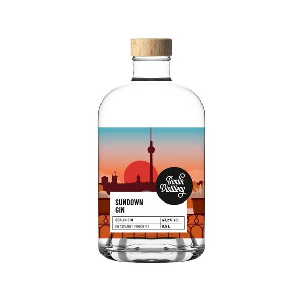 Berlin Distillery Sundown Gin 0,5 L