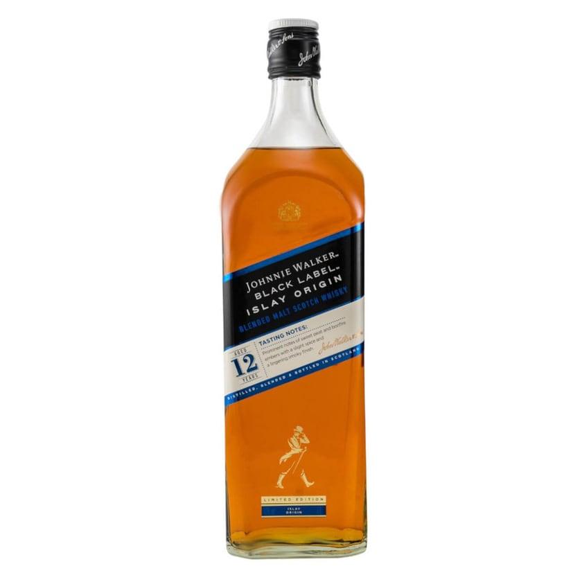 Johnnie Walker Black Label Islay Origin Whisky 0,7 L