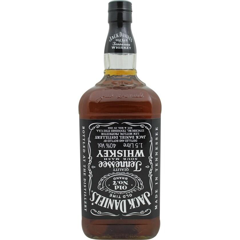 Jack Daniels Whiskey Black Label Old No.7 1,5l