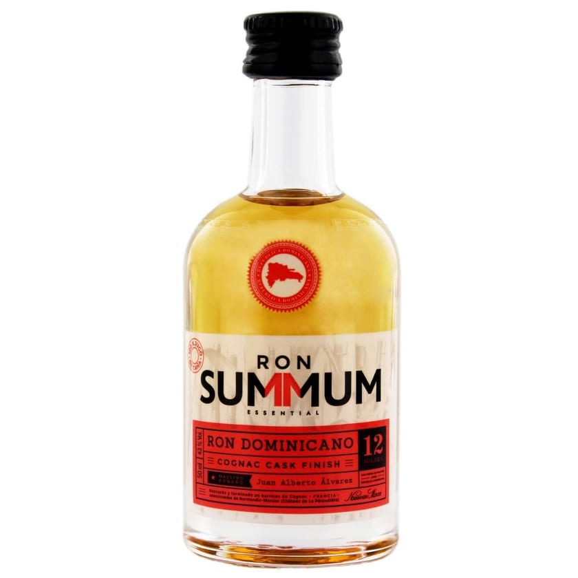 Summum 12 Jahre Cognac Finish Rum Miniatur 0,05 L