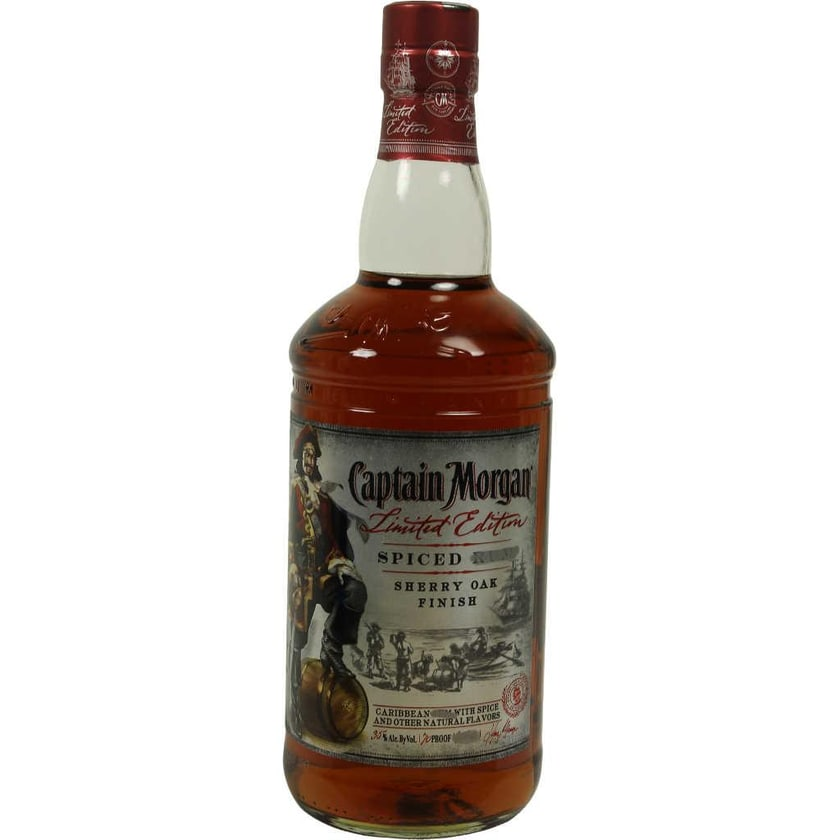 Captain Morgan Spiced Sherry Oak Limited Edition 0,7l