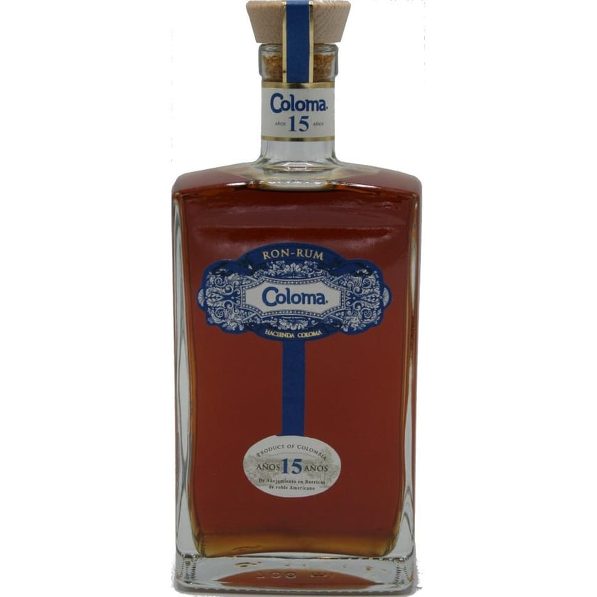Coloma Rum 15 Jahre 0,7 l