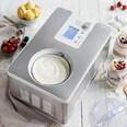 Springlane Kitchen Eismaschine und Joghurtbereiter Elisa silber/weiß 2.0l