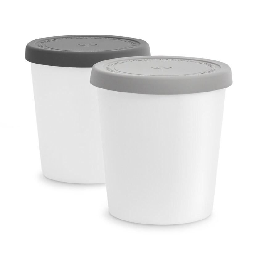 Springlane Eisbehälter für Speiseeis grau
