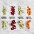 Kitchen Crew Elektrischer Spiralschneider und Gemüsehacker weiß