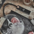 Burnhard Smoking Set mit Aromabeuteln und Räucherpfeife schwarz