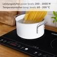 Kitchen Crew Doppel-Induktionskochfeld 3500W schwarz