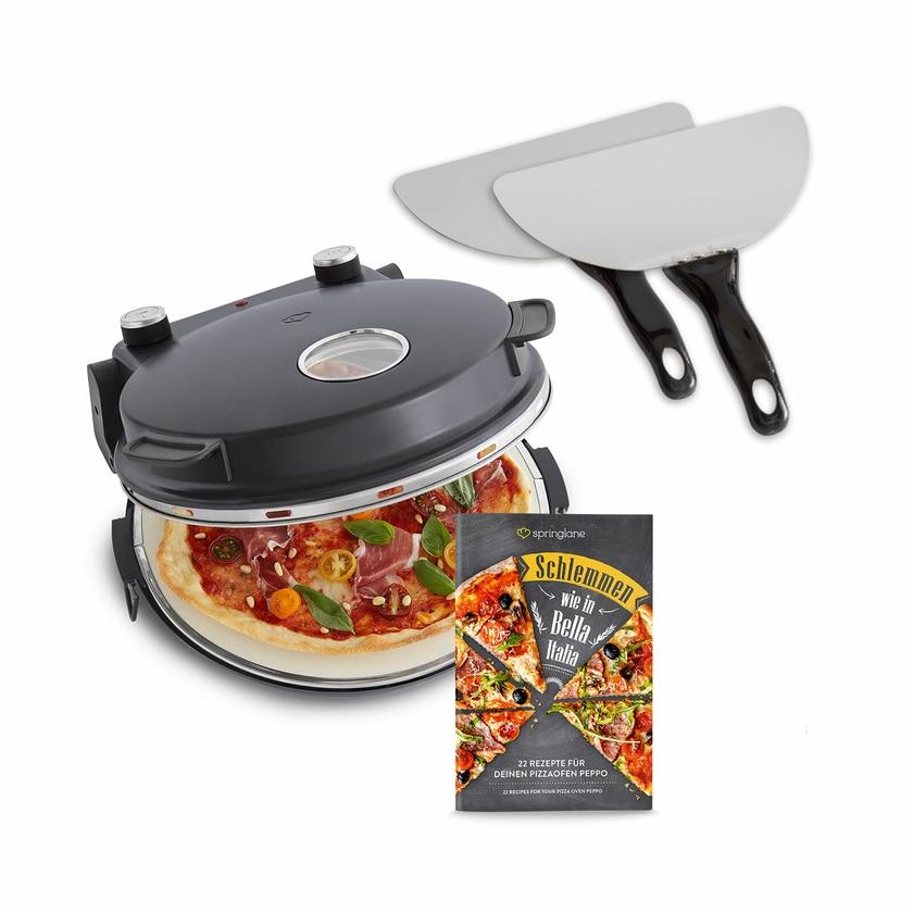 Springlane Pizzaofen Peppo anthrazit