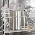 Springlane Edelstahl Eisbehälter für Eismaschine Elli