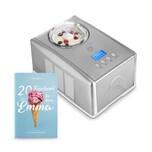 Springlane Kitchen Eismaschine Emma silber/weiß 1.5l