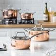 Springlane Kitchen 3-Schicht Edelstahl Topfset Claire 8-teilig