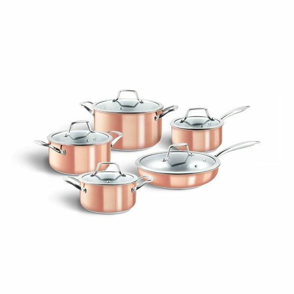 Springlane Kitchen 3-Schicht Edelstahl Topfset Claire inkl. Pfanne