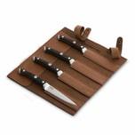 Burnhard Steakmesser-Set 4-tlg. mit Pakka-Holzgriff
