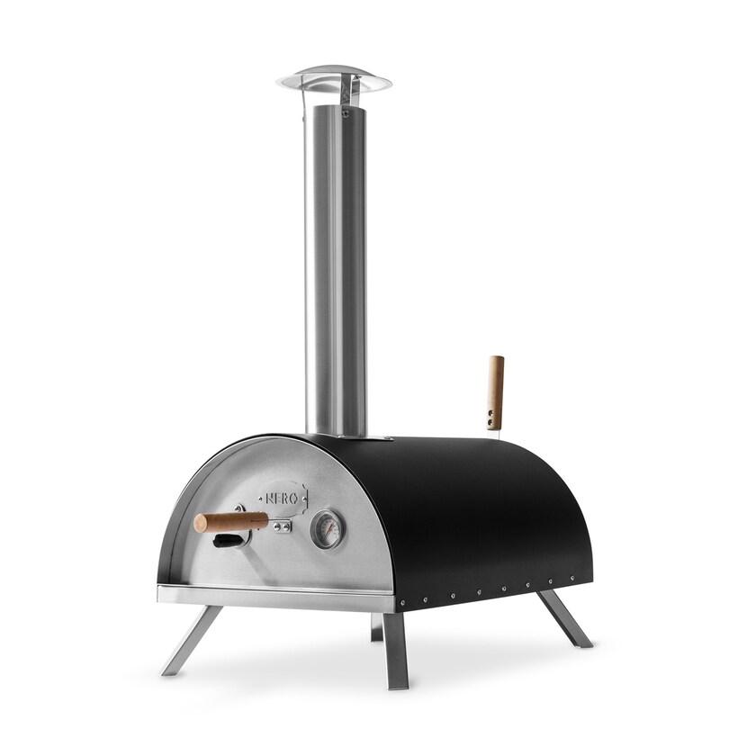 Burnhard Edelstahl Outdoor Pizzaofen Nero