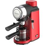 TurboTronic Espressomaschine CM24 - 3,5 Bar Siebträgermaschine, Rot