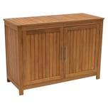 Degamo Konsolenschrank Cabinet Eukalyptus geölt 120x50x85cm