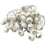 DEGAMO Gummispanner für Zeltplanen 50 Stück