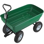 Tectake Handwagen Tummi 125l grün