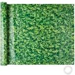 Tectake Balkon Sichtschutz grünes Laub 75 cm