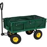 Tectake Bollerwagen max 350kg grün