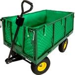 Tectake Bollerwagen max 550kg grün