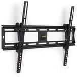 Tectake TV Wandhalterung neigbar für 32 81cm 63 160cm VESA max 600x400 bis 90kg schwarz