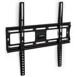Tectake TV Wandhalterung starr für 23 48cm 55 140cm VESA max 400x400 bis 100kg schwarz