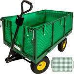 Tectake Bollerwagen mit Ablage max 550kg grün