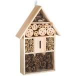 Tectake Insektenhotel aus Holz braun