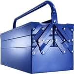 Tectake Werkzeugkasten blau