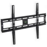 Tectake TV Wandhalterung starr für 32 81cm 63 160cm VESA max 600x400 bis 120kg schwarz