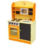 Tectake Kinderküche orange