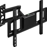Tectake TV Wandhalterung neigbar schwenkbar für 26 66cm 55 140cm VESA max 400x400 bis 60kg schwarz