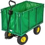 Tectake Bollerwagen groß max 544kg grün