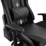 Tectake Premium Racing Bürostuhl Twink schwarz