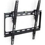 Tectake TV Wandhalterung neigbar für 26 66cm 55 140cm VESA max 400x400 bis 60kg schwarz