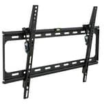 Tectake TV Wandhalterung neigbar für 32 81cm 63 160cm VESA max 600x400 bis 120kg schwarz