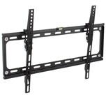 Tectake TV Wandhalterung neigbar für 32 81cm 65 165cm VESA max 600x400 bis 70kg schwarz