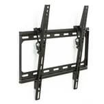Tectake TV Wandhalterung neigbar für 32 81cm 55 140cm VESA max 400x400 bis 100kg schwarz