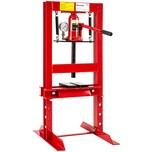 Tectake Hydraulikpresse mit 6t Pressdruck rot
